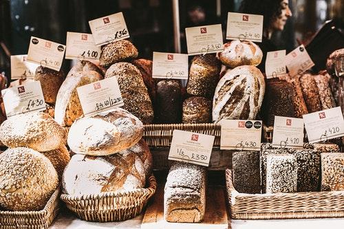 沢山の種類のパン